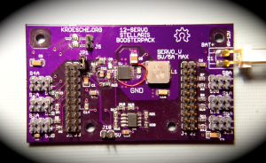 Photo of assembled BoosterPack board
